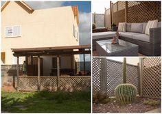 Terraza y jardín de este fantástico Chalet en Montebravo - Santa Brígida. Gran Canaria