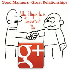 Where's Your Manners? The Complete Guide To Etiquette Barbour Barbour Harman Online Marketing, Social Media Marketing, Digital Marketing, Social Media Tips, Social Networks, Google Plus, Digital News, Corporate Branding, Pinterest For Business