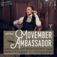 Are you participating in Movember this year? If so, the Straw Boss Comb Collective wants to reward you for being an Ambassador to the program and raising awareness/funds for Men's health and …