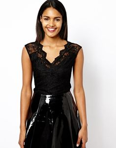 River Island Fitted Lace Top [The top, not the ratchet skirt].