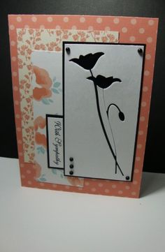 Negative Prim Poppy by YLM - Cards and Paper Crafts at Splitcoaststampers