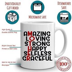 Daughter Love Gifts For Mother Coffee Mug Unique Present Ideas Mom Grandma Mama Mothers Day And Birthday Link In Bio Pinteres