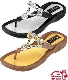 b545c227eb98 Grandco Sandals - Jeweled and Beaded Sandals Comfortable Flip-flops for  Women. The Official Grandco Sandals Retailer.