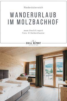 Wanderurlaub in Niederösterreich: Molzbachhof - The Chill Report Windows, Austria, Hotels, Hiking, Ramen, Window