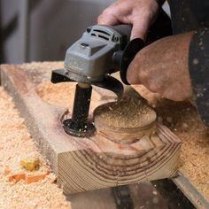 Arbortech Mini Turbo Kit - Lets you freehand carve, shape and sand a huge variety of projects with the Arbortech Mini Grinder #WoodworkingTools