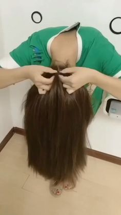 Amazing hairstyle - New Ideas Long Hair Ponytail Styles, Hair Up Styles, Easy Hairstyles For Long Hair, Braids For Long Hair, Medium Hair Styles, Girl Hairstyles, Braided Hairstyles, Kids Hairstyle, Cool Ponytails