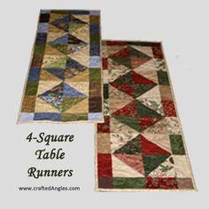 Camino de mesa rectangular