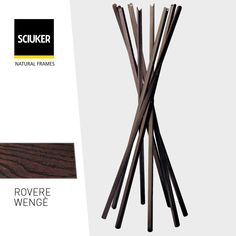 Alla scoperta della finitura #RovereWengè delle finestre #Sciuker con un'icona di #design: l'attaccapanni #Sciangai by #Zanotta. Tableware, Frame, Design, Picture Frame, Dinnerware, Tablewares, Dishes, Frames