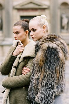 Vanessa Jackman: Paris Fashion Week AW 2012...Ginta and Kasia