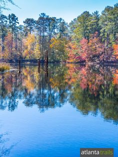 Hike the Arabia Mountain Mile Rock Trail to a glassy lake in an abandoned rock quarry near Atlanta