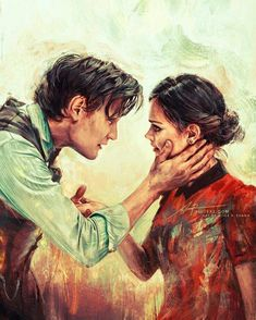 DOCTOR 11 AND CLARA OSWALD - Beautiful Painting!
