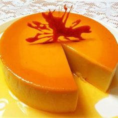 Coconut Cheese Flan (Flan de Coco y Queso) Allrecipes.com- pretty similar to the one I make
