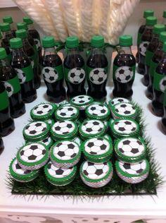 Scrap festa tema futebol personalizados