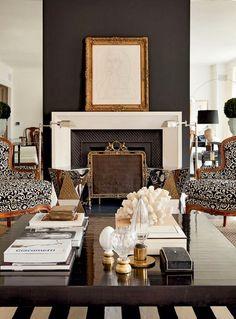 Bick Simonato interior design - love the floor lamps!