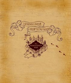 I Solemnly Swear that I'm Stalking My Ex - The #MaraudersMap #App