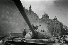Prague 1968 (Operation Danube) by - Albums Visit Prague, Old Paintings, View Source, More Pictures, Military Vehicles, Ian Berry, August 21, Ua, Tanks