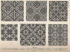 sabaWay — petitepointplace: Icelandic knitting patterns...