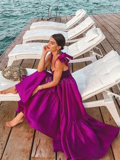 Wonderful Outfit Ideas Fiesta To Update Your Dressing outfit ideas fiesta, Evening Dresses Beautiful Pretty Dresses, Beautiful Dresses, Gorgeous Dress, Evening Dresses, Summer Dresses, Split Prom Dresses, Backless Maxi Dresses, Sun Dresses, Summer Maxi