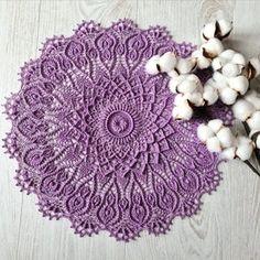 Sky blue round textured doily vintage centrepiece crochet | Etsy Lace Doilies, Crochet Doilies, Crochet Lace, Plate Mat, Vintage Centerpieces, Lace Table, Etsy App, Vintage Lace, Crocheting