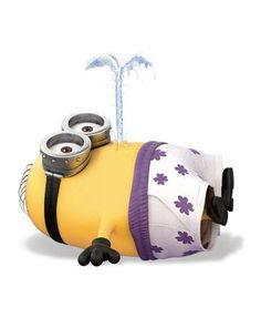 Minions│Mi Villano Favorito - #Minion swimming