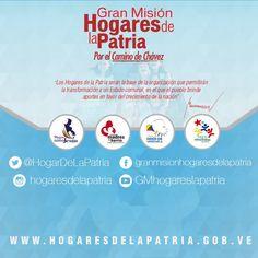 @HogarDeLaPatria : La Revolución Bolivariana a través de la GM #HogaresDeLaPatriaerradicará la #PobrezaExtremapara el 2019