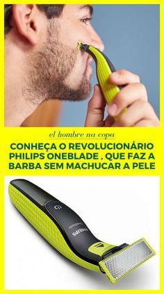 philips, oneblade, barba, aparelho, máquina, el hombre