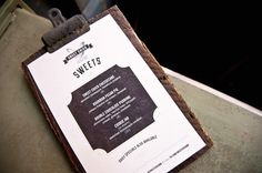 Sweet Chick by No Entry Design, via Behance