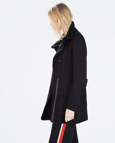 ZARA - SPECIAL PRICES - FUNNEL COAT