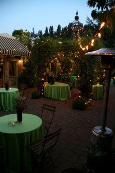night time wedding