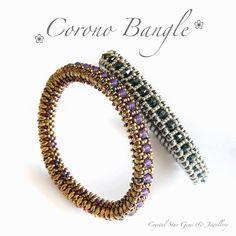Corono Bangle Tutorial - Crystal Star Gems & Jewellery