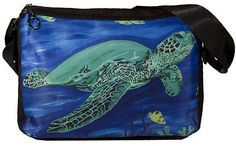 Sea Turle Lap Top Bag by Salvador Kitti  From my by SalvadorKitti, $60.00