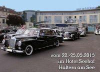 22.-25. Mai, Haltern am See: Jahrestreffen des Mercedes-Benz Veteranen Club von Deutschland e.V. (MVC) - News - Mercedes-Fans - Das Magazin für Mercedes-Benz-Enthusiasten