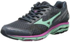 new arrival fad8b 084c3 Mizuno Women s Wave Rider 17 Running Shoes Reviews. Black running shoe.  Reviewer