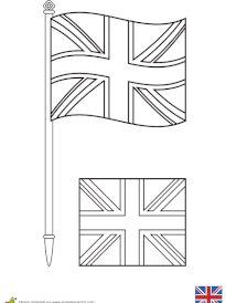 9 meilleures images du tableau drapeau anglais union - Drapeau angleterre coloriage ...