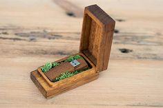 Wooden usb box Box for USB Flash Drive Box personalize flash drive  box gift,wedding box Proof Box for photography,Photo