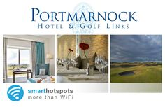 Free Social WiFi in Portmarnock Hotel & Golf Links, thanks to smarthotspots Marketing Opportunities, Customer Engagement, Wifi, Golf, Free