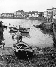 Pobra do Caramiñal. 1956. )A Coruña). Galicia. Spain.