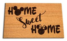 Nothing Says Welcome Home like a Disney Welcome Mat