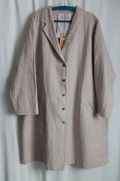 cocon.commerz PRIVATSACHEN ERSTBESTAND Mantel aus Sommerleinen in rosé Gr. 2 #nachhaltig seit 1984 #seide #leinen #linen #silk #handgefärbt  #shibori #hand-dyed
