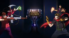 League of Legends- Road to The Cup