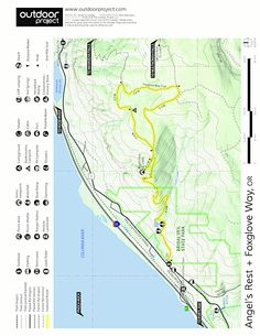 angels rest to wahkeena falls - Google Search