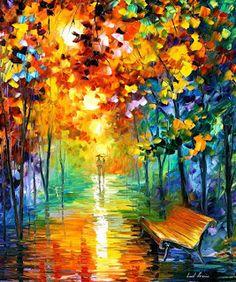 COSICAS VARIAS: Pinturas al Oleo por Leonid Afremov