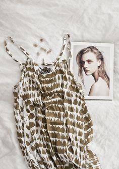 SNEAK PEEK of the LW sun soaker dress : memento vivere collection s/s'14 | for original & details ➸♡➸ LW love log / blog | © hannah lemholt photography
