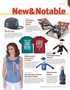 #NFLPA New & Notable Products #RetailMerchandiser