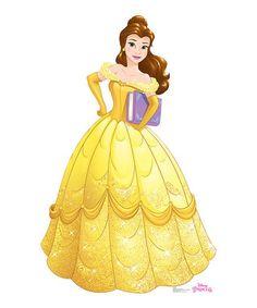 Disney Princess Belle Life-Size Cardboard Cutout