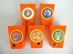 The Lion Guard Inspired  Party Favor..Popcorn by MyPartyTreasures