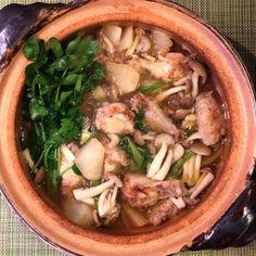 Teba Daikon Nabe (recipe)