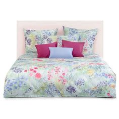 Shop now for our best price for Bloom Duvet Cover by Schlossberg at Everett Stunz. Quality Duvet Covers, Bedding, Linens and Mattresses at Great Prices and Fast Delivery. French Country Bedrooms, King Duvet, Dream Bedroom, Linen Bedding, Bed Linens, Built Ins, Luxury Bedding, Duvet Covers, Blanket