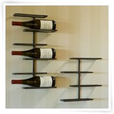 Tribeca Wall Mounted Wine Rack