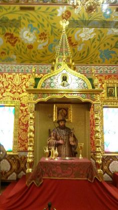 Interior da casa dos czares em Kolomenskoye  - Moscou